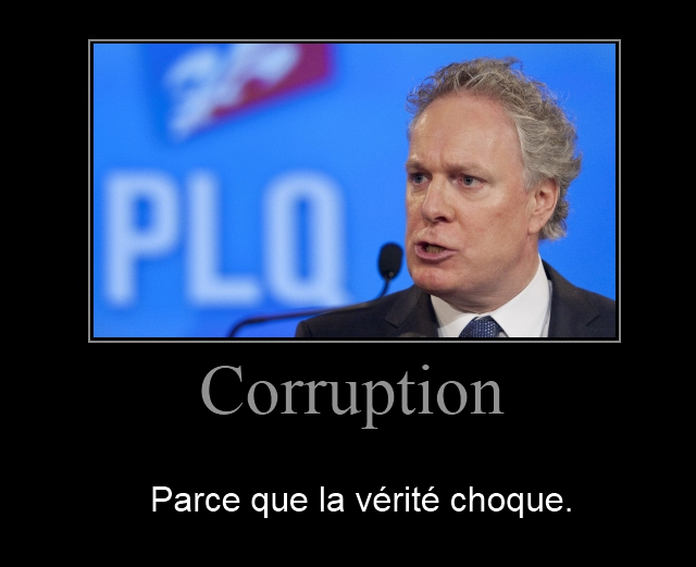 Corruption et Jean Charest