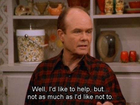 The Red Forman of the day