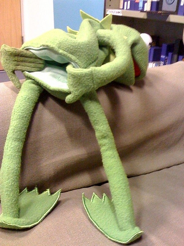 Kermit.....That's Gross...