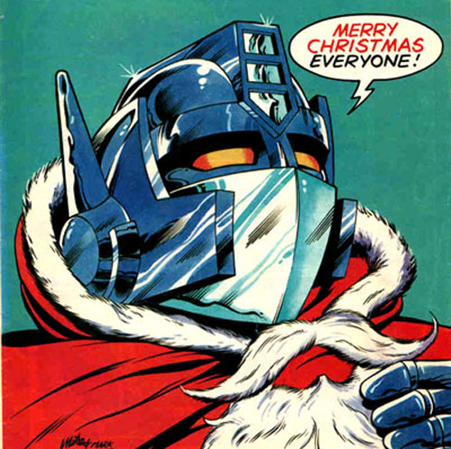 A message from Optimus Prime :)