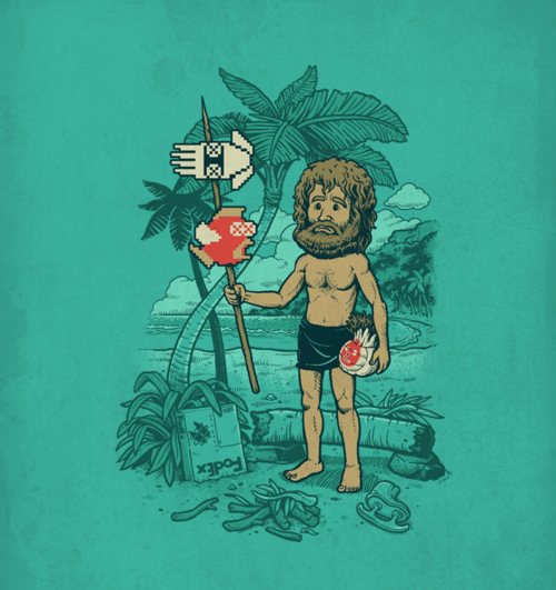 Castaway and Mario :P