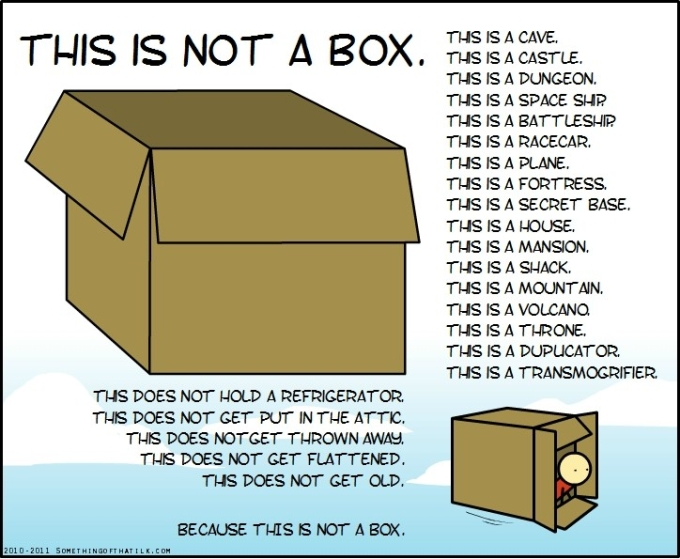 This is not a box.