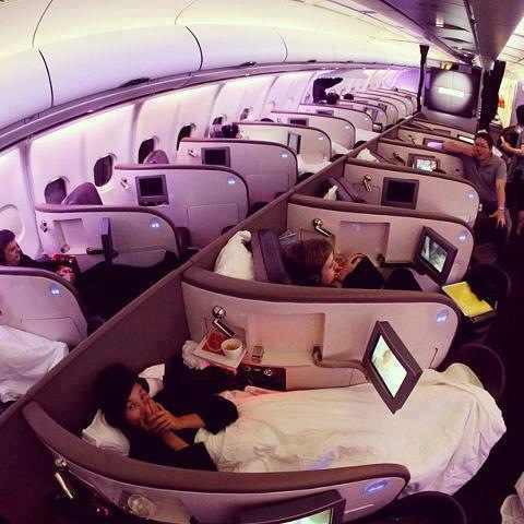 Heaven on a plane (z_z)
