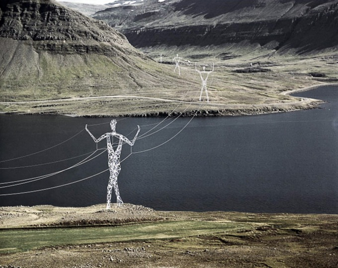 Power Giants, Redesigned Electricity Pylons (n_n)