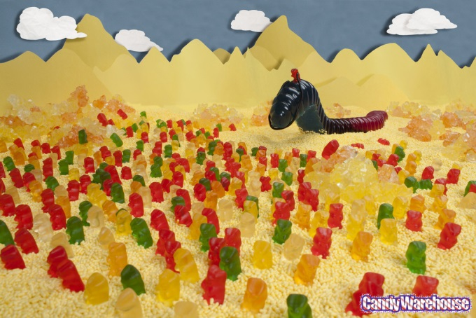 He who controls the gummies, controls the universe ( ゚ Д゚)
