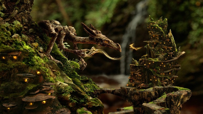 The Moss Dragon 