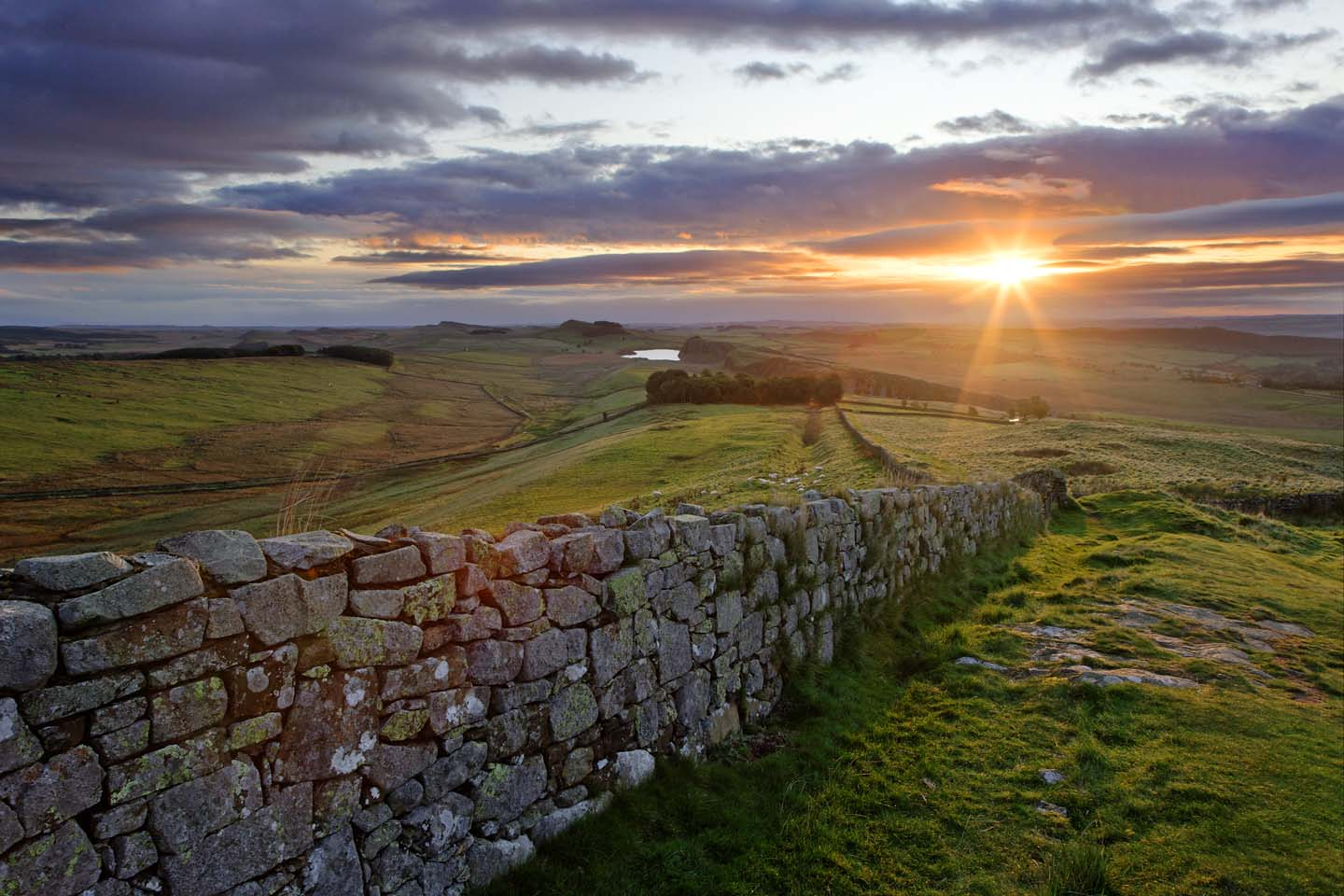 The beautiful Hadrian's Wall