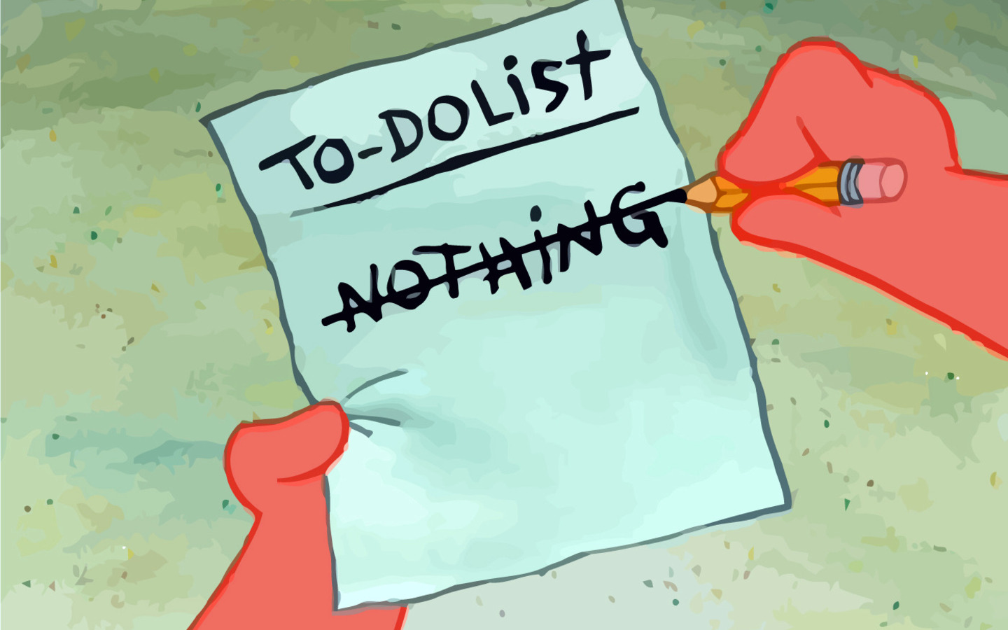 My to do list for today (n_n)