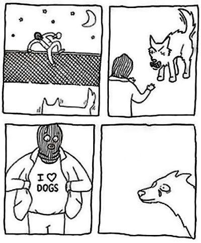 I <3 DOGS ('-'*)