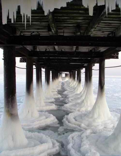 Frozen piers (゜◇゜)