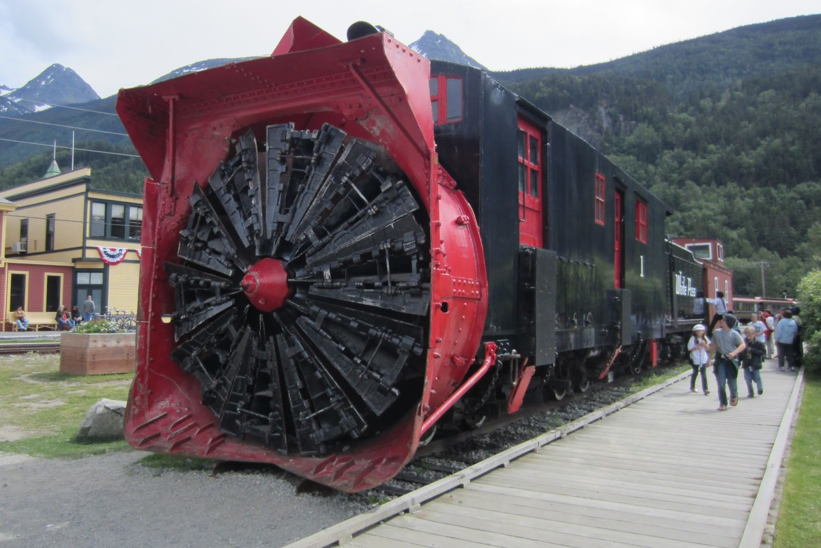 Snow plow train 
