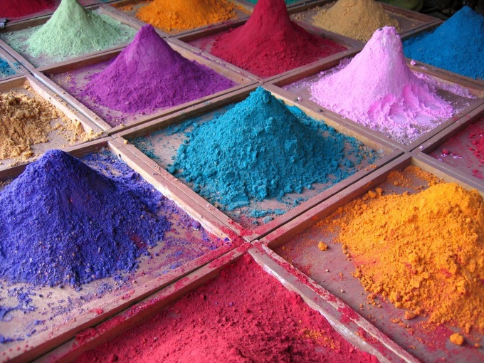 Indian Pigments (^_^)'/