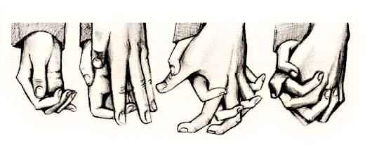 Holding your hand (⌒ー⌒)
