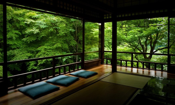 A peaceful place: Rurikou-in temple in Kyoto, Japan