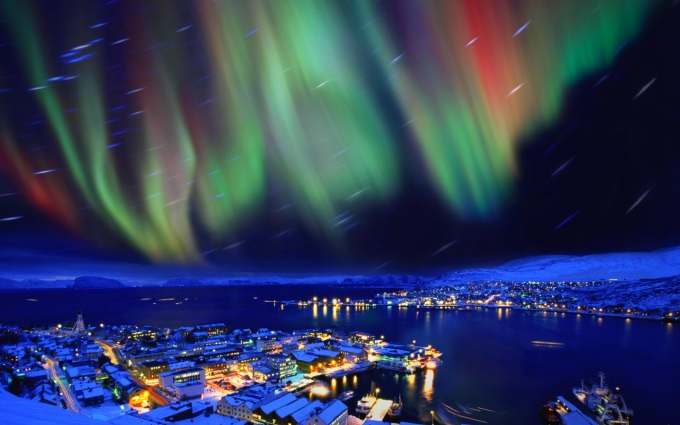 Northern Lights Norway (^_^)'/