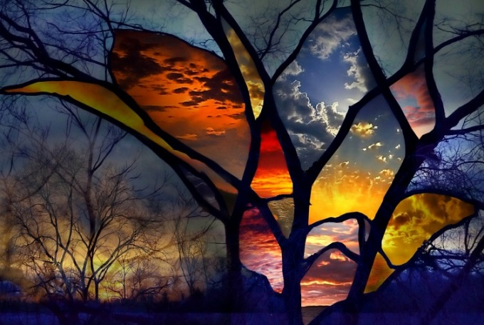 Stained glass window (n_n)