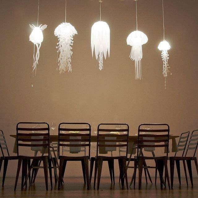 Jelly fish inspired lights (≧∇≦)/