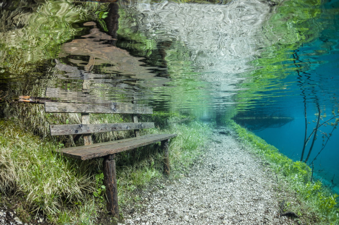 Submerged Park in Austria ~(','~)