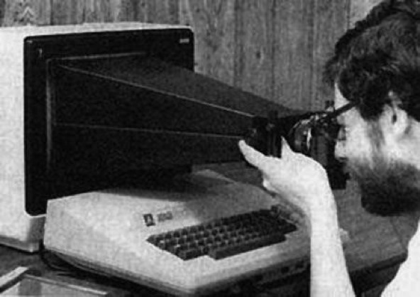 Taking a screenshot in 1983 :)