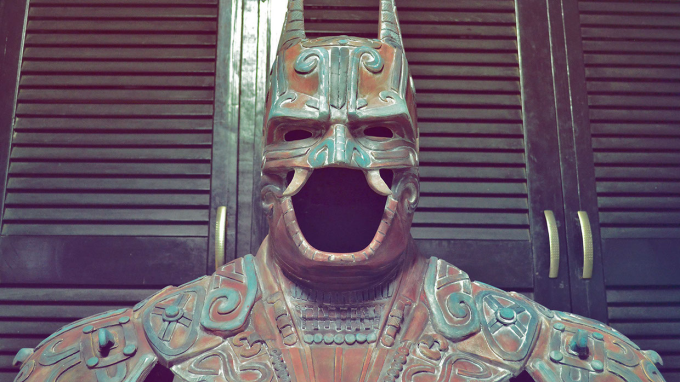 Ancient Mexican Batman :P