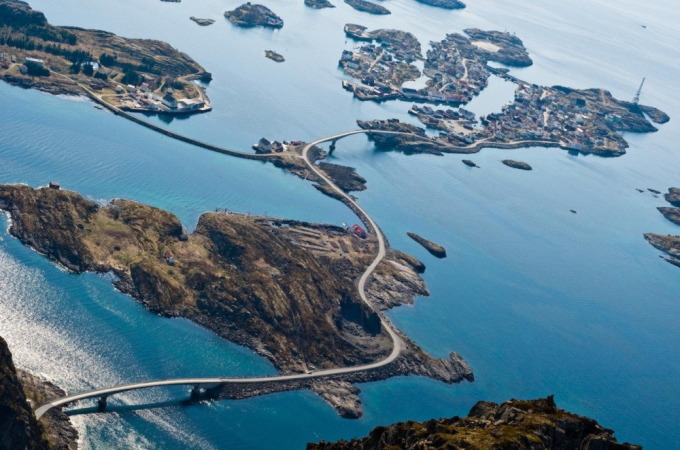 The Atlantic Road, Norway (^ー^)ノ