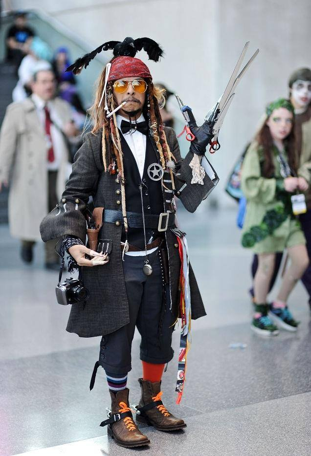 Every Johnny Depp in one cosplay :)