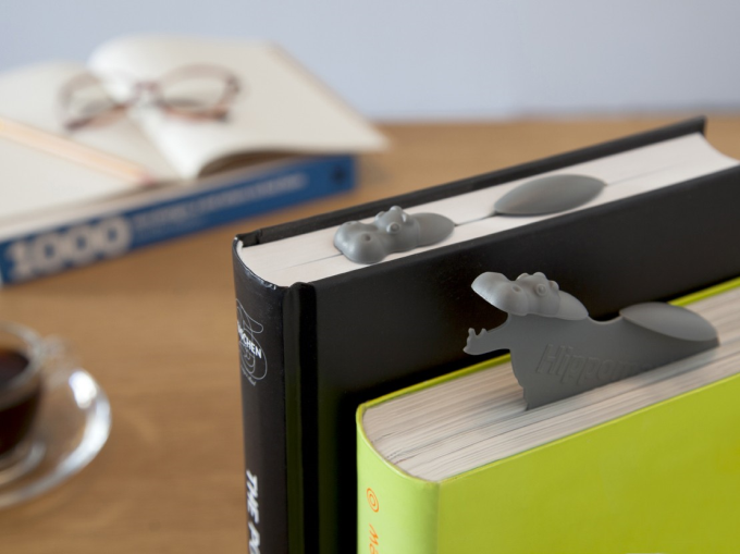 Hippo bookmark ^_^