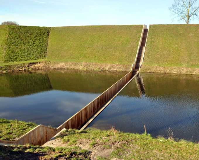 Moses Bridge in the Netherlands (⌒ー⌒)ノ