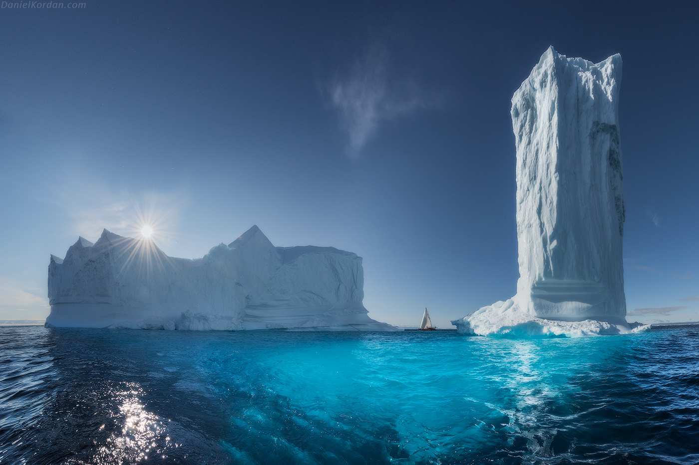 Giant Icebergs in Greenland :)