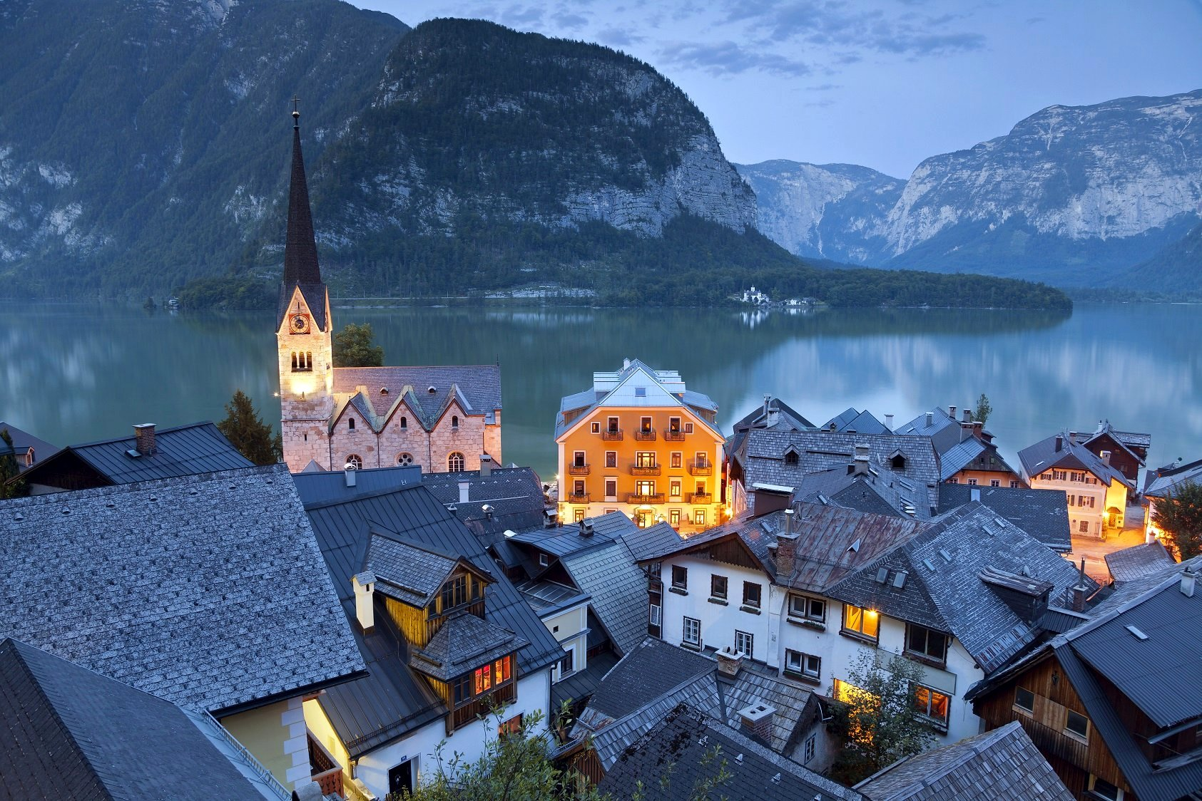 Village in Austria (O_O)