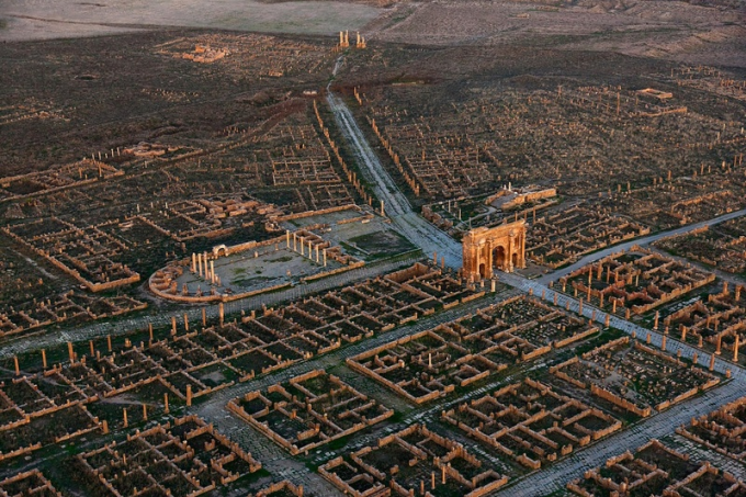 The ruins of a Roman colony in Africa :)