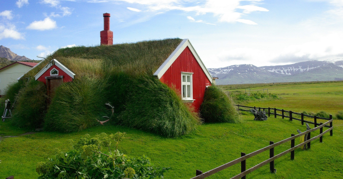 House in Iceland :)