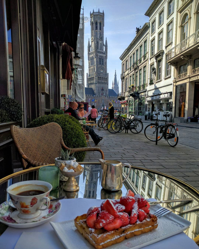 Breakfast in Belgium :)