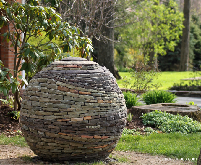 Stacked stone sphere :)