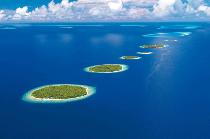 Baa Atoll in the Maldives