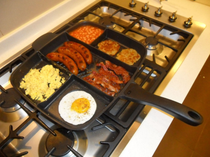 Breakfast pan o_O