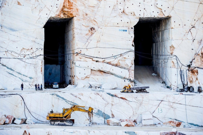 Marble quarry in Greece o_O