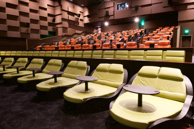 Movie theater double seating :)