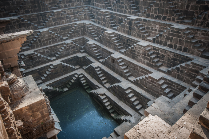 1,900 year old stepwell in India