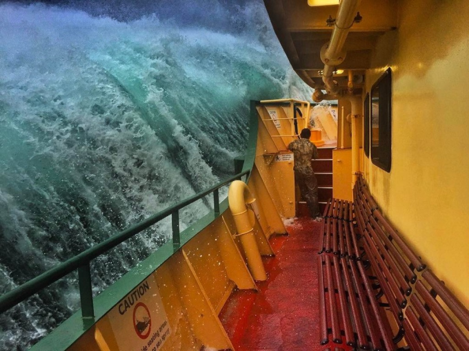 Insane Ocean Swell :O