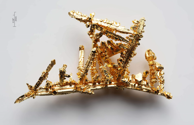 A rare Crystalline gold nugget
