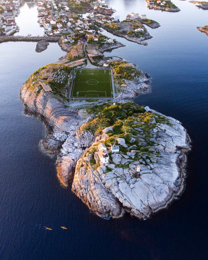 Football field in Norway ⚽️