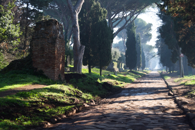 2,300-year-old Roman road in Italy
