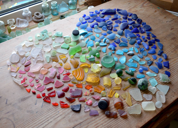 Lovely sea glass ^_^