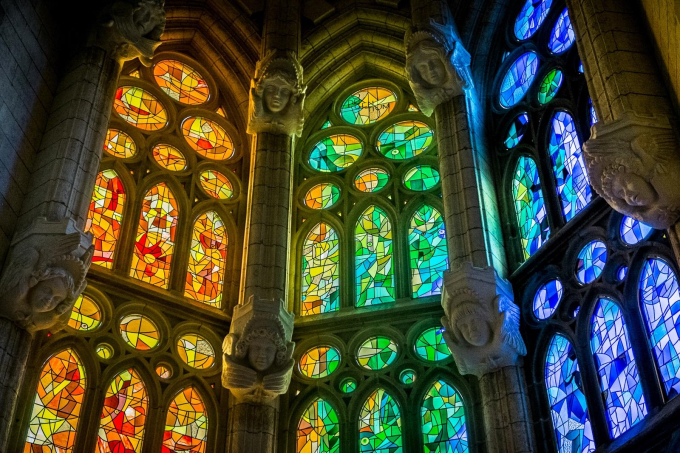 Stained Glass, Barcelona