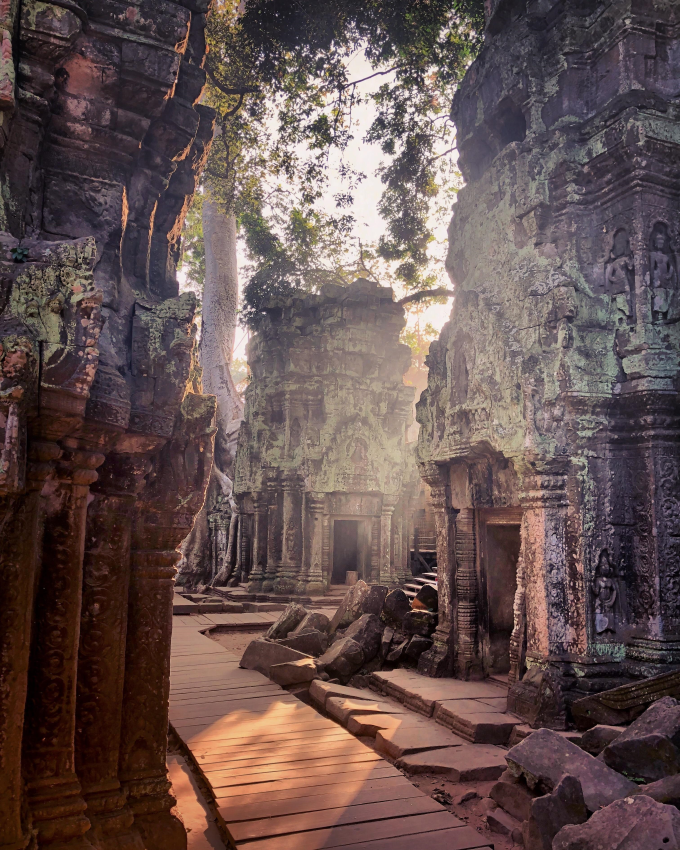 Morning light in Angkor Wat, Cambodia